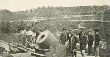 Today in History the Battle of Petersburg began (1864)