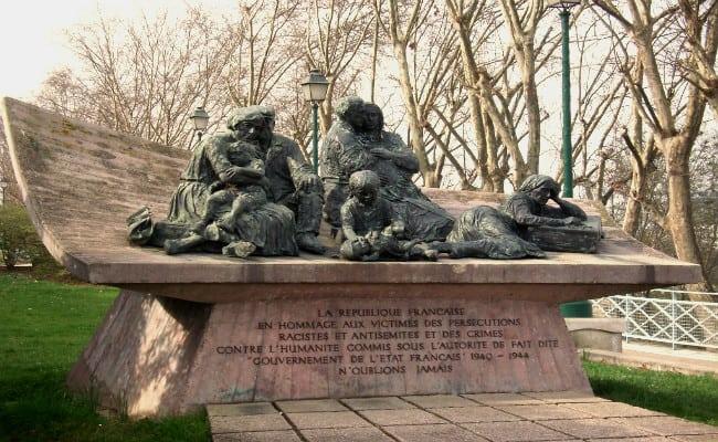 vel d'hiv monument