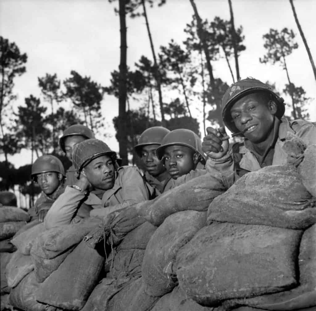 Buffalo Soldiers of the US Army during WW2