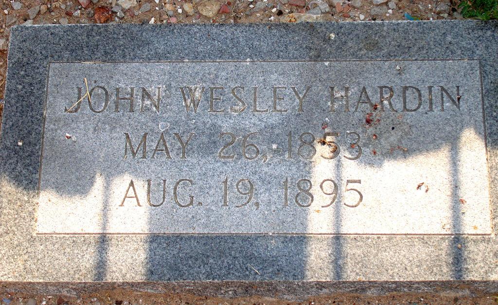Jw-hardin-gravestone