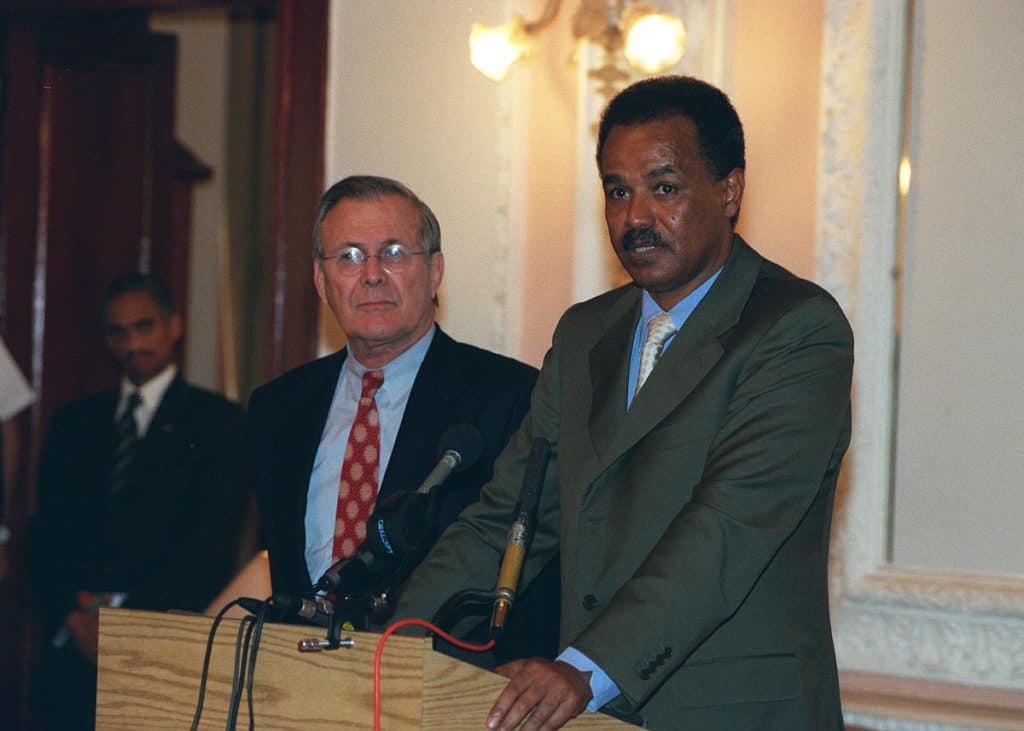 Isaias Afewerki of Eritrea