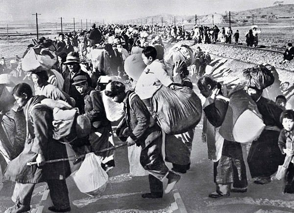 South Korean Korean War Refugees