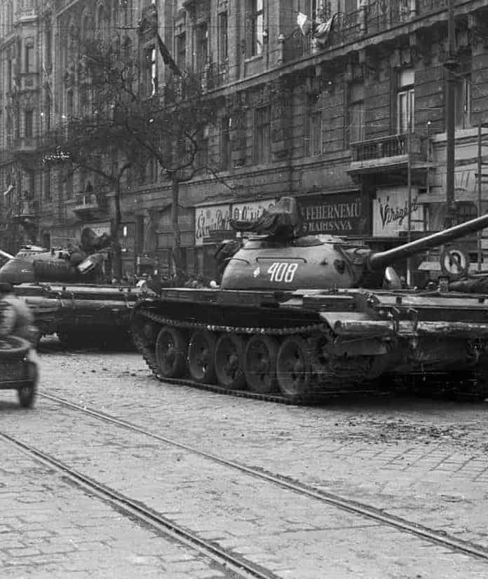 This Day In History: Soviet Tanks Enter Budapest to Crush An Uprising (1956)