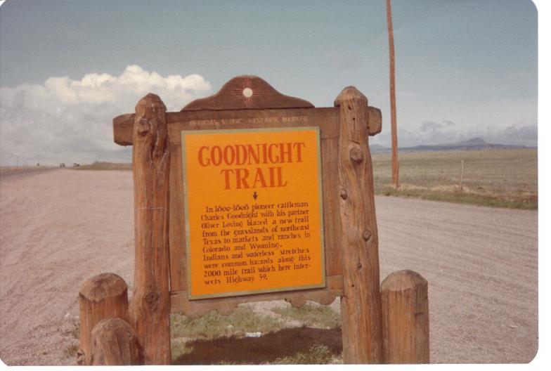 Goodnight_Trail_marker