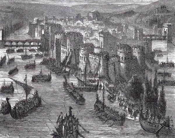 Today In History: Paris Is Sacked By Viking Raiders (845)