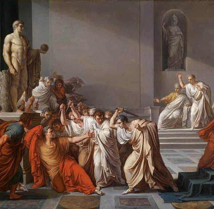 Today In History: Casca And Cassius Decide Mark Antony Will Be Spared From Assassination (44 BC)