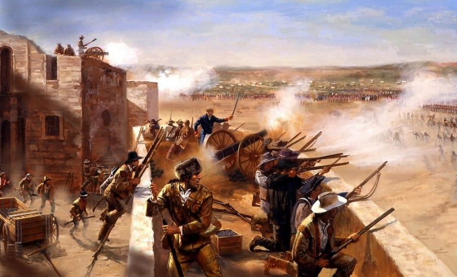 Today In History After A 13 Day Battle The Texas Alamo