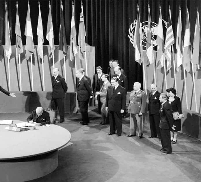 Today In History: United Nations Charter Is Signed In San