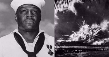 Ship's Cook Forced to Take Over a Machine Gun to Defend His Battleship from Japanese Attack