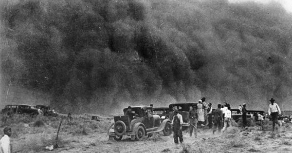an analysis of the infamous dustbowl of north america in the 1930s During the 1930s, the united states experienced one of the most devastating droughts of the past century the drought affected almost two-thirds of the country and parts of mexico and canada and was infamous for the numerous dust storms that occurred in the.