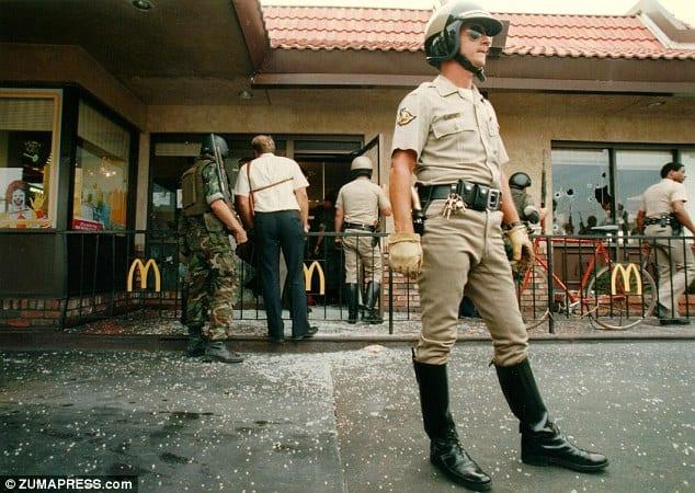 Hammer-wielding man 'murders at San Diego McDonald's ...