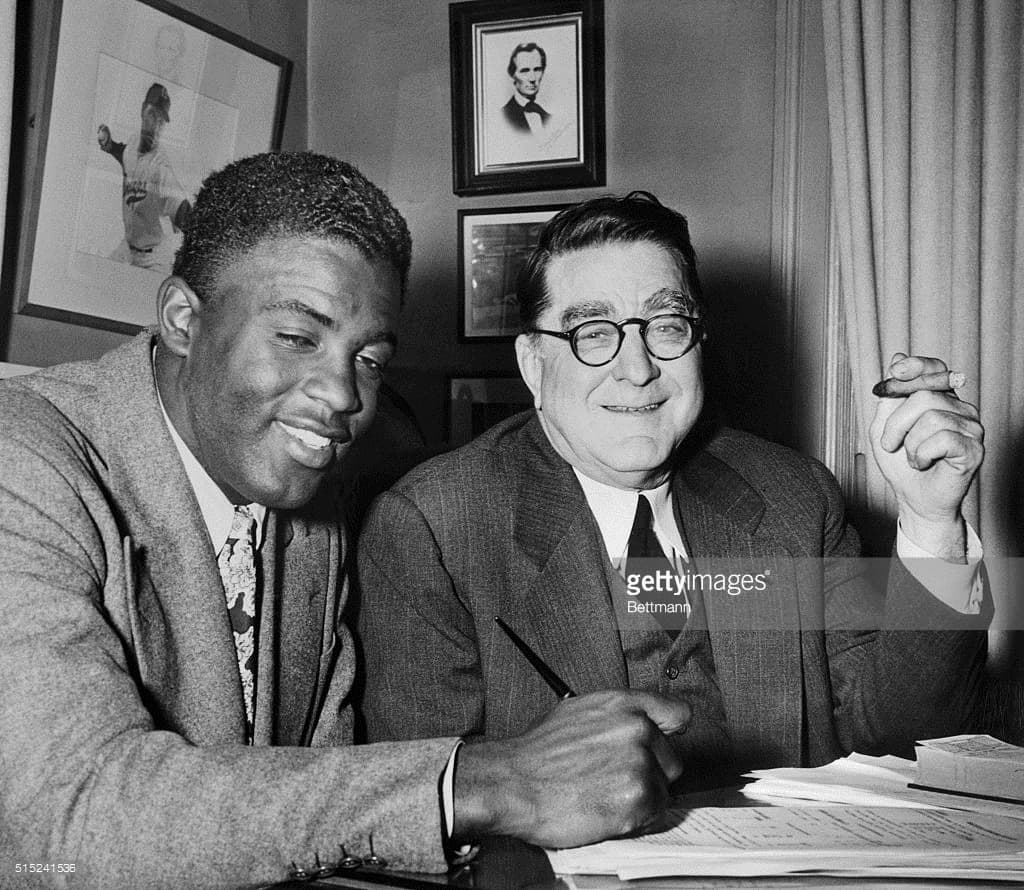 25 Photos Of Jackie Robinson, Famed Baseball Player And