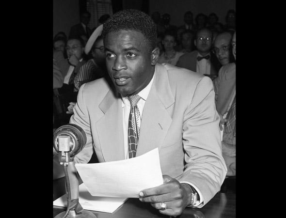 jackie robinson biography On april 15, 1947—71 years ago—jackie robinson broke the baseball color line and became the first african american to play on a major sports team here are 42.
