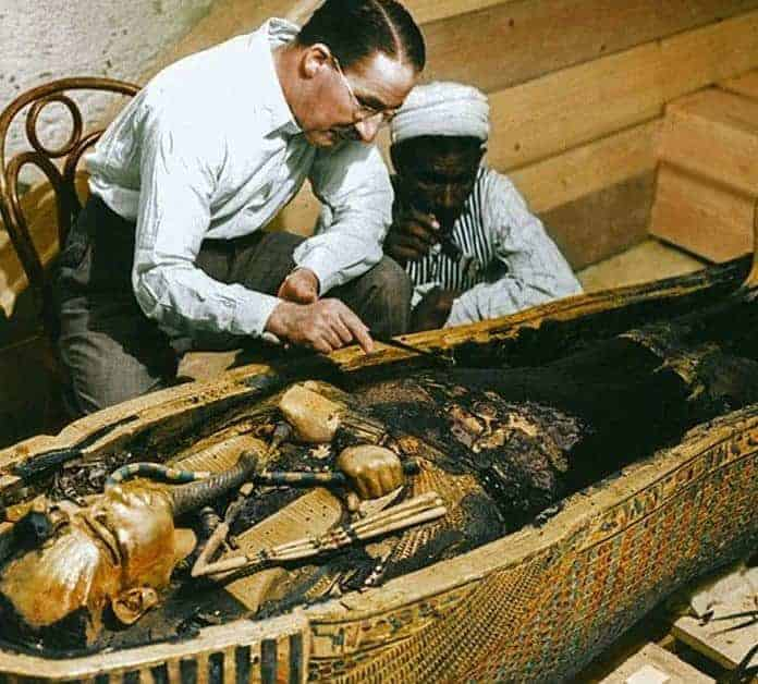 The Curse Of King Tuts Tomb Torrent: 20 Color Photos Of King Tut's 3,300-Year-Old Tomb
