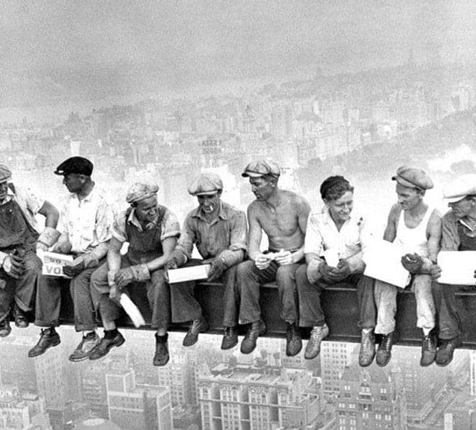 Image result for public domain construction workers