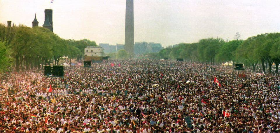 2009 washington Gay march