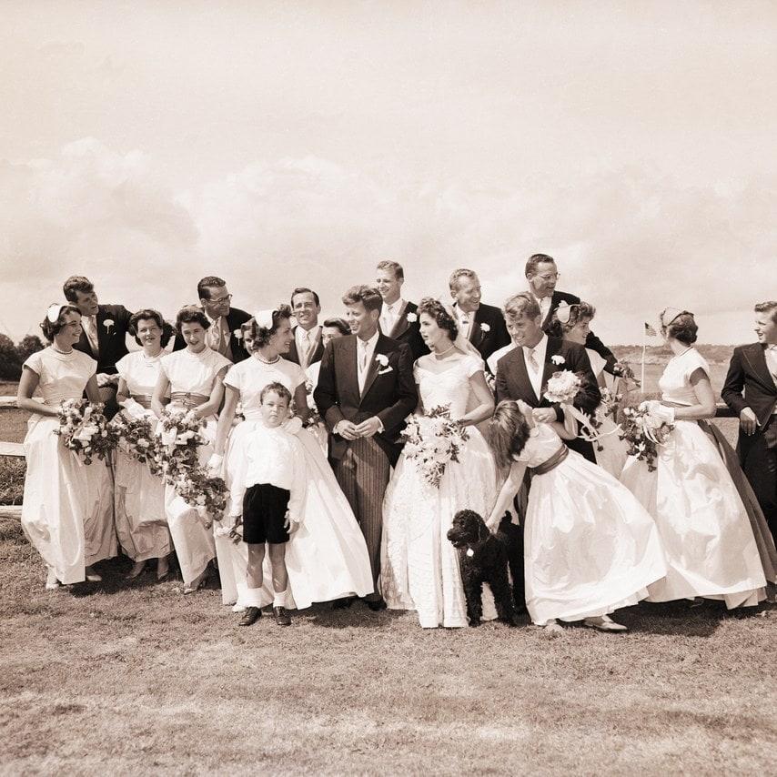 35 Photos Of The 1953 Fairytale Wedding Of JFK And Jackie