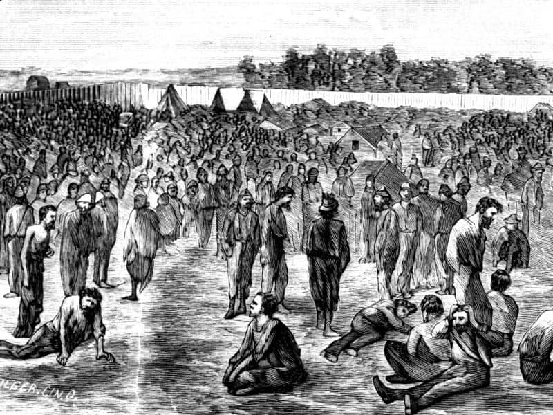 my historic trip to andersonville prison In 1864, my great-great-grandfather, private william davies, was captured in battle by confederate forces and spent three months in andersonville prison, the largest and most notorious of the civil war prisons.