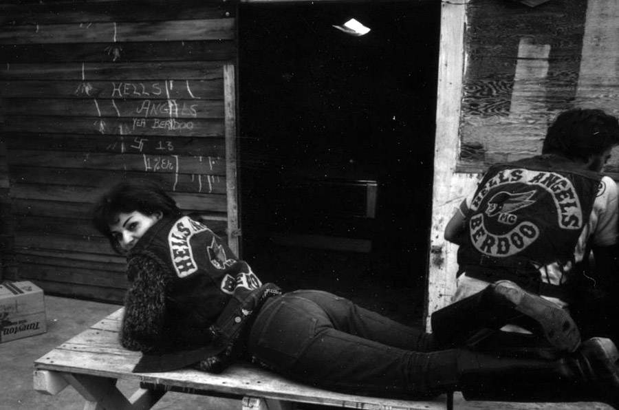 Photographs of the Mayhem of 1% Motorcycle Gangs