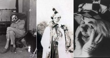 Horrifying Vintage Photographs of Clowns That Will Give You Nightmares