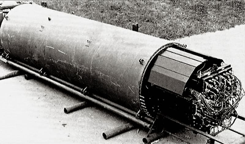 Equipamento de grampo submarino General Electric Mk10