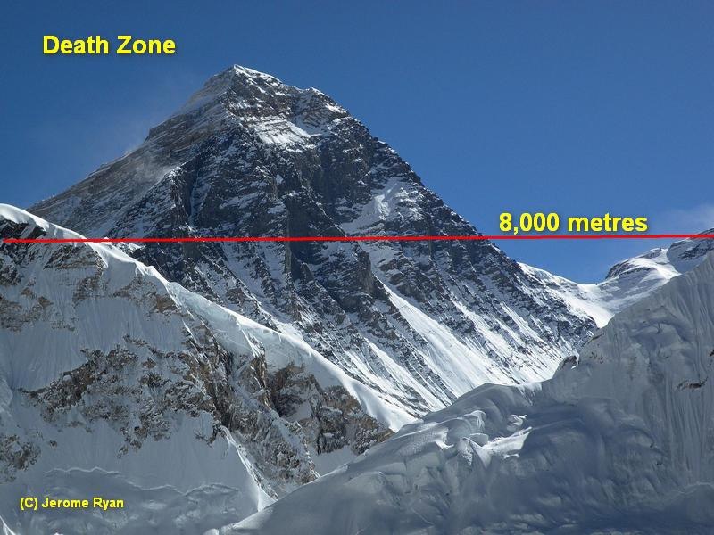K2 Mountain Map Mount Everest: T...