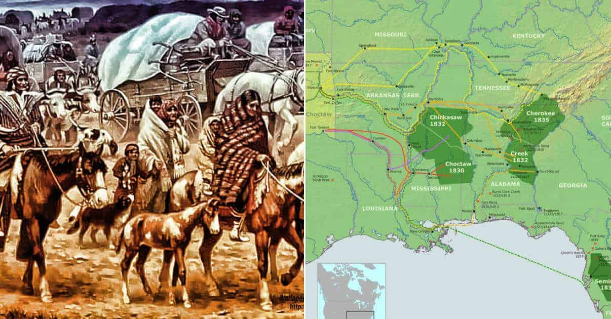 10 Misunderstood Facts about the Trail of Tears that Your