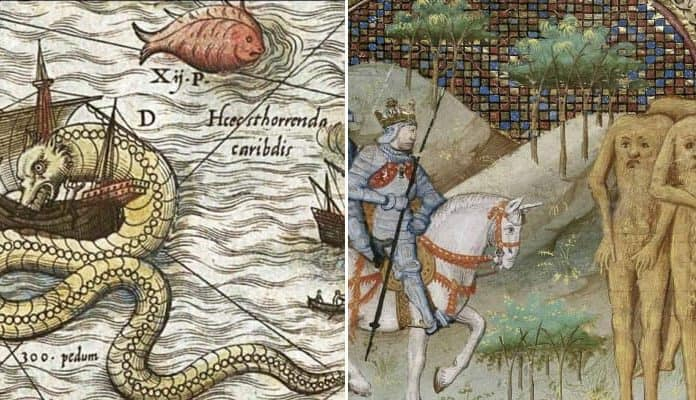 Where the Wild Things Weren't: A Dozen Map Monsters from History
