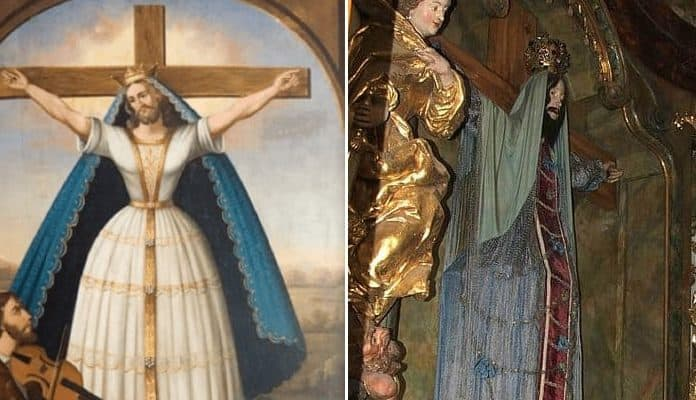 "Saint Wilgefortis: The ""Brave Virgin"" with a Beard from God"