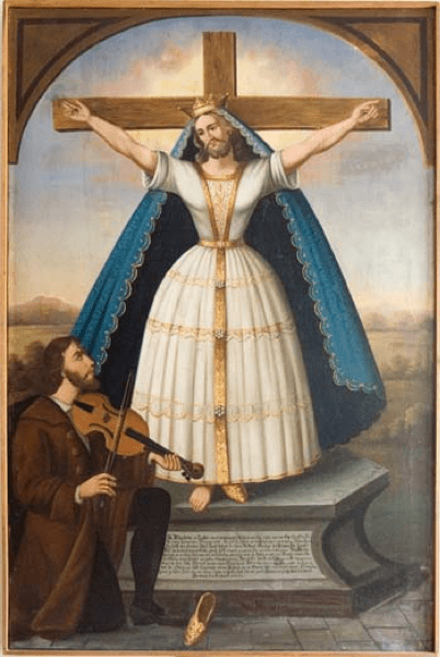 """Saint Wilgefortis: The """"Brave Virgin"""" with a Beard from God"""