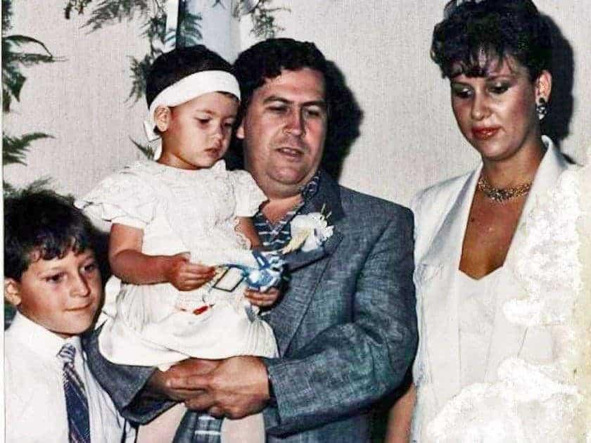 pablo escobar u0026 39 s private life in photos