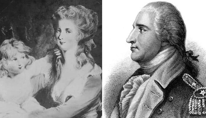 Image result for benedict arnold peggy shippen