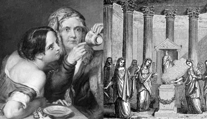 Birds, Entrails and Newborn Babies: 20 of the Strangest Fortune Telling Methods from History