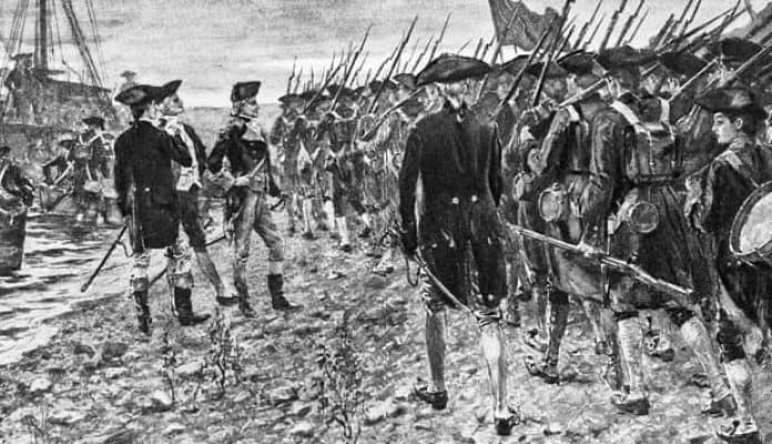 The American invasion of Canada in 1775